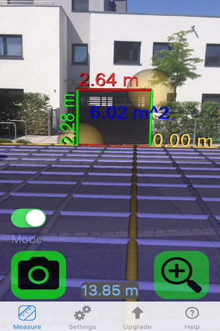 Tape Measure Camera Ruler 3D screenshot 2