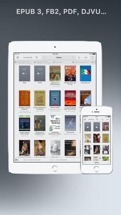 Screenshot #6 for tiReader 2 Pro – eBook and Comic book reader