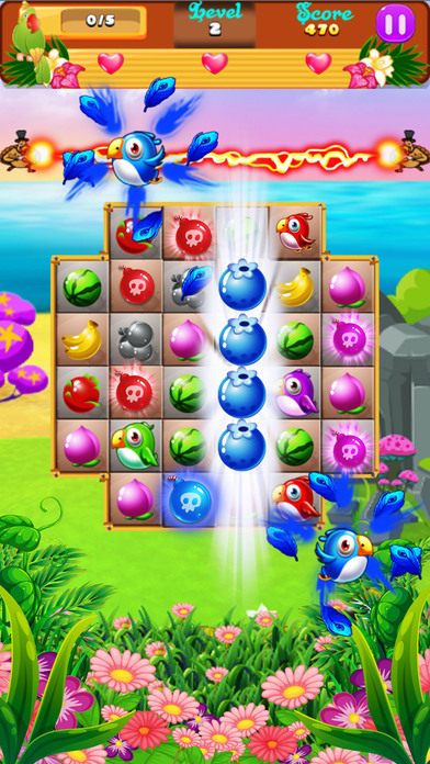 Sweet Fruits & Birds screenshot 5