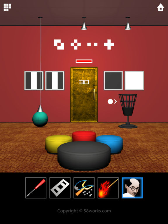 dooors 5 room escape game review and discussion toucharcade. Black Bedroom Furniture Sets. Home Design Ideas