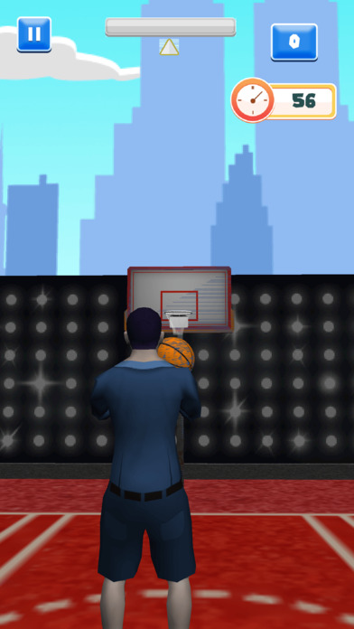 Awesome Celebrity Basketball Showdown screenshot 1