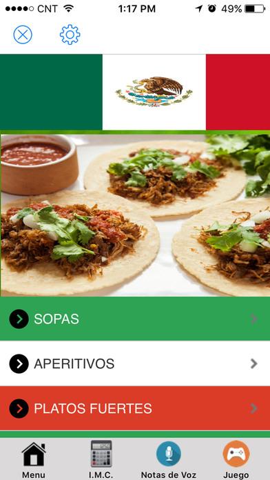 Recetas de comida mexicana faciles app download android apk for Comidas mexicanas rapidas y economicas