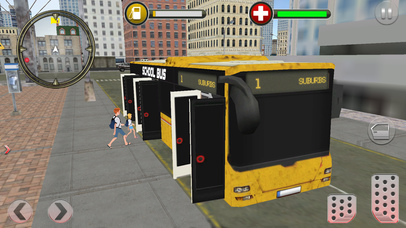 Modern City School Bus screenshot 3