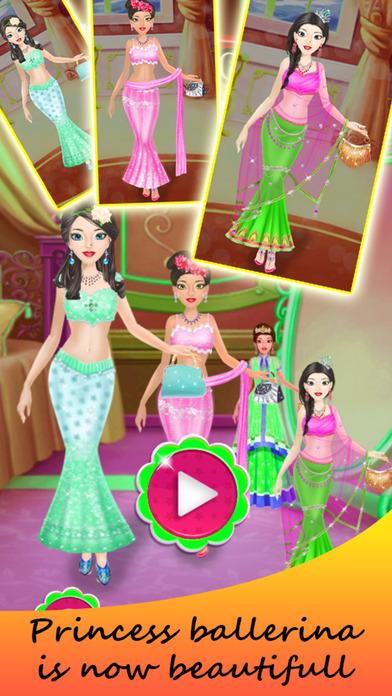 Princess Bride Ballerina Dress Up Girl screenshot 4