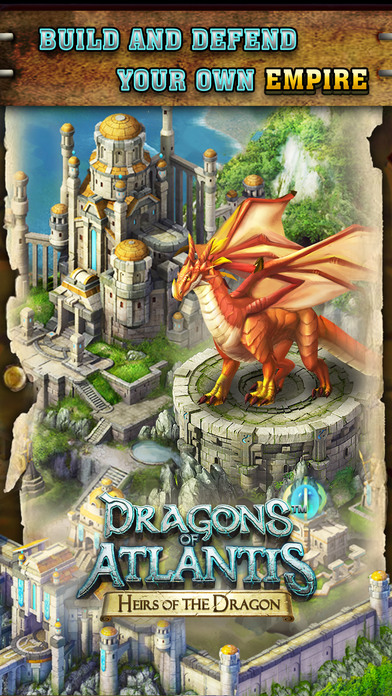 dragons of atlantis heirs of the dragon on the app store. Black Bedroom Furniture Sets. Home Design Ideas