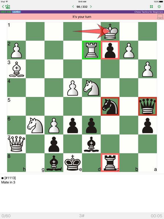 Chess Tactics for Beginnersscreeshot 2