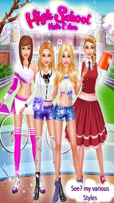 High School Girls Hair Salon screenshot 1