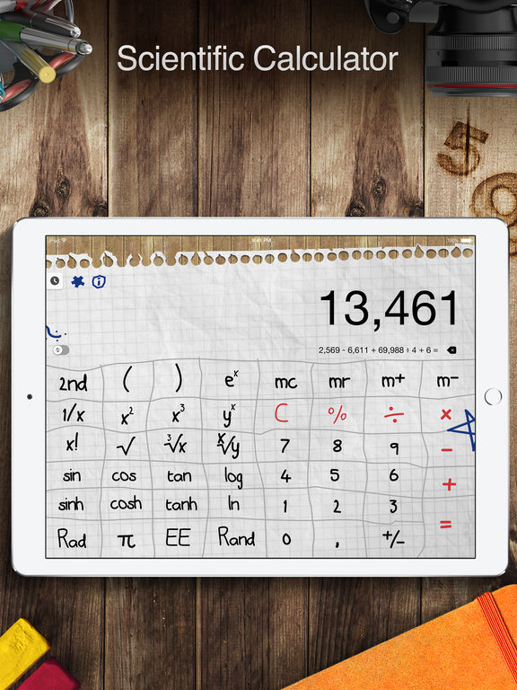 Screenshot #2 for Calculator Pro for iPad - Calculator & Converter