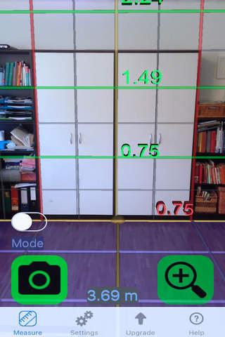 Ruler Camera - Tape Measure 3D screenshot 4