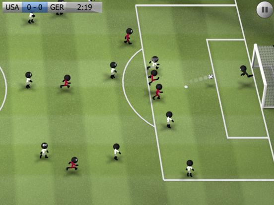 Screenshots of Stickman Soccer for iPad