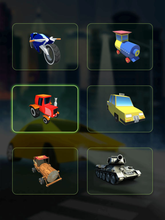 Mini Train Street Rush screenshot 5