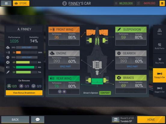 Motorsport Manager Mobile 2 screenshot 8