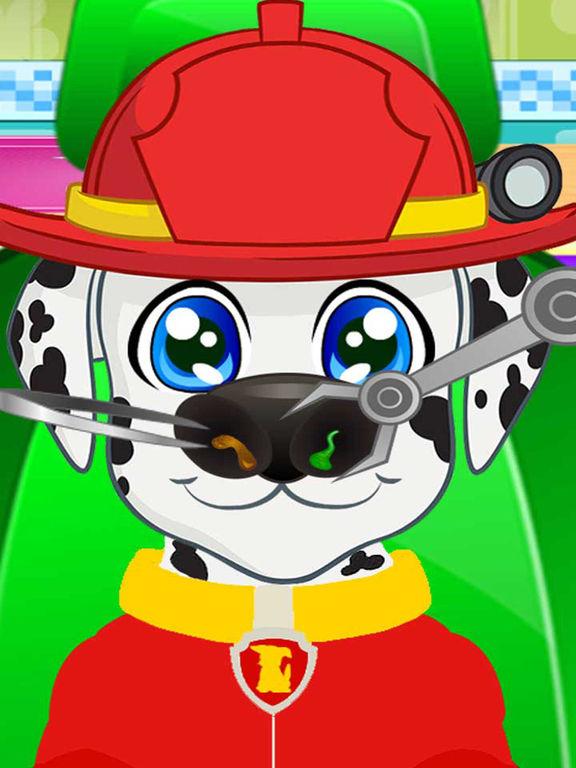 Pups Nose Doctor Kids Game screenshot 4