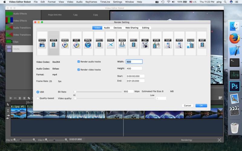 Video Editor Robot Screenshots