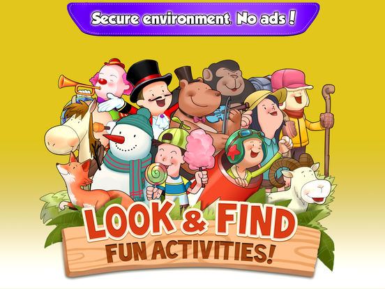 Look & Find: Fun Activities!screeshot 5