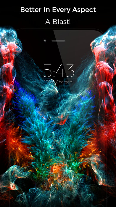 Nebula - Live Wallpapers screenshot 4