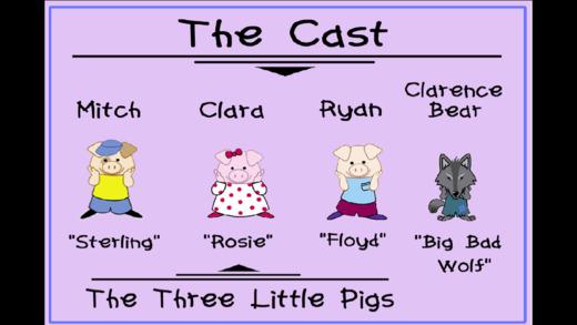 Three Little Pigs - A Play Screenshots
