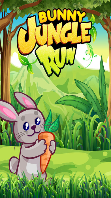 Bunny Jungle Run Adventure screenshot 1