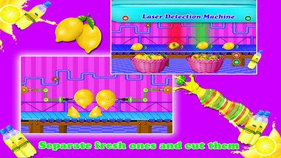 Lemon Juice Factory Chef screenshot 2