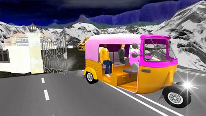 Xtreme Drive Tuk Tuk Rickshaw screenshot 2