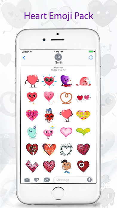 Love and Heart Stickers - Emojis, Emoticons screenshot 3