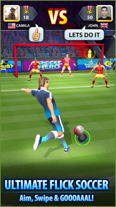 Soccer! Hero screenshot 2