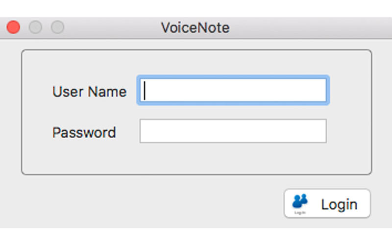 VoiceNote for Mac