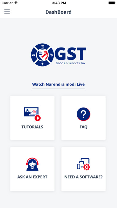 GST India Expert Chat screenshot 1