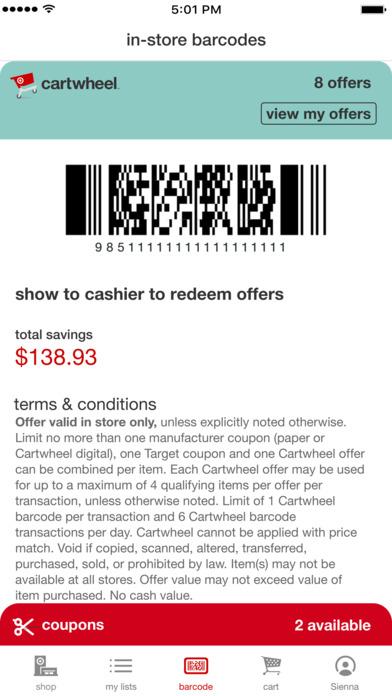 Target — Now With Cartwheel screenshot