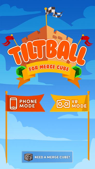 Tiltball for Merge Cube screenshot 1