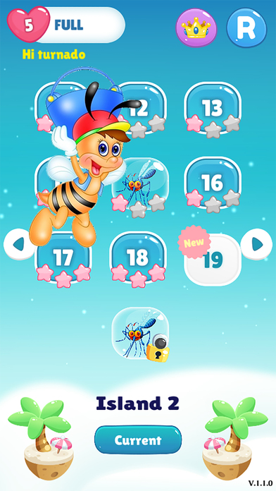Bee Of King - pop and blast the you bee bubble screenshot 1