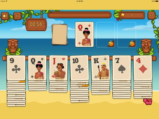 Tiki Solitaire screenshot 6