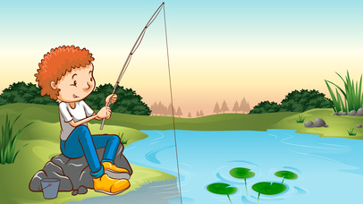 Fishing game for toddlers screenshot 2