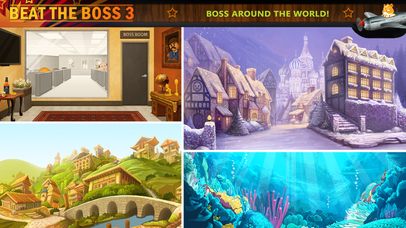 Screenshots of Beat the Boss 3 for iPhone