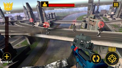 US Army Sniper Robots Futuristic Battle screenshot 4