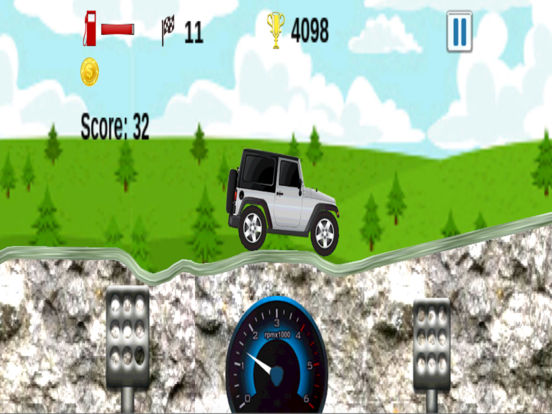 Up Hill Racing: Car Climbing screenshot 7
