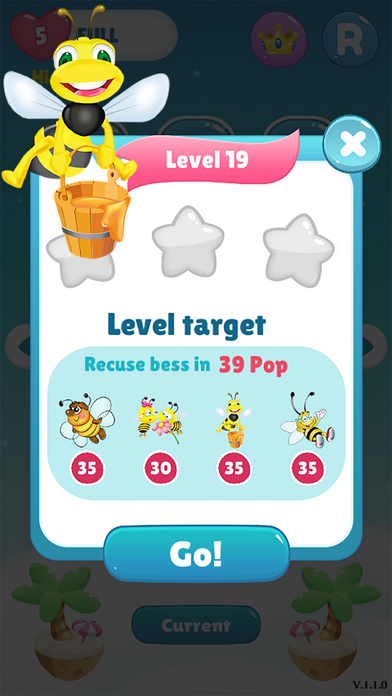 Bee Of King - pop and blast the you bee bubble screenshot 2