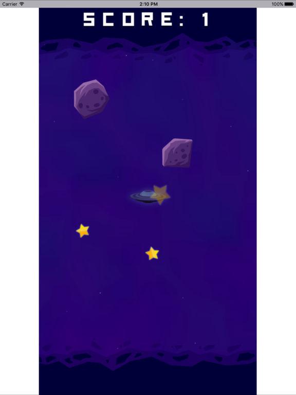 宇宙飞船采集星星 screenshot 6