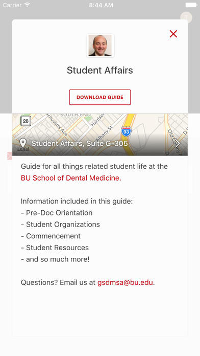 boston university dental school application