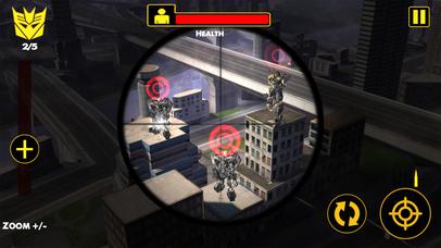 US Army Sniper Robots Futuristic Battle screenshot 3