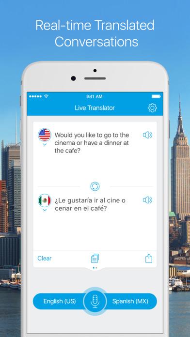 Live Translator - Instant Voice & Text Translator Screenshot