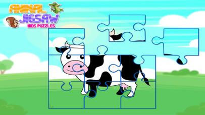 Animal Jigsaw Kids Puzzle Pro screenshot 3