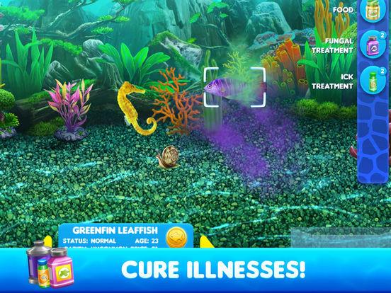App shopper fish tycoon 2 virtual aquarium games for Fish aquarium games
