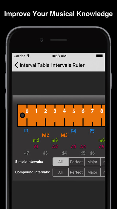 Interval Table Screenshots