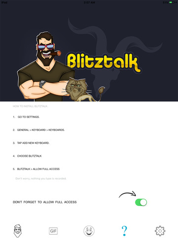 BlitzTalkApp screenshot 2