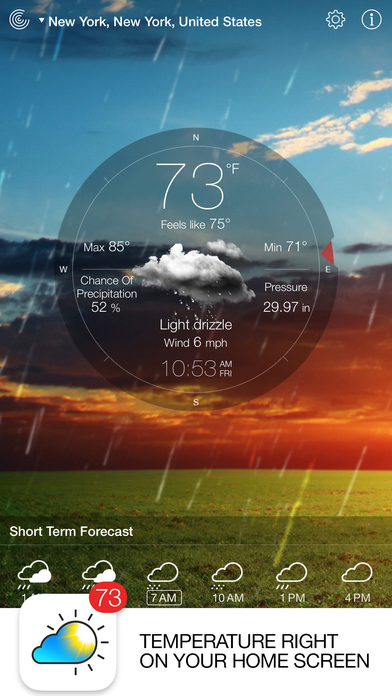 Screenshot #6 for Weather Live - Weather Forecast & Alerts