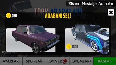 Türk Arabaları Yarış & Sürüş screenshot 2