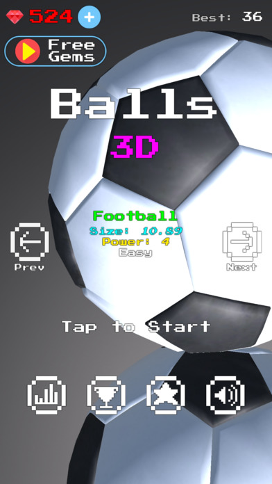 Balls 3D screenshot 3