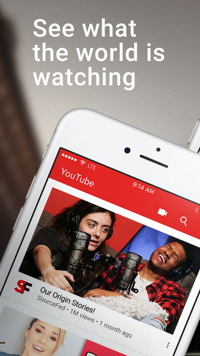 Image of YouTube - Watch Videos, Music, and Live Streams for iPhone