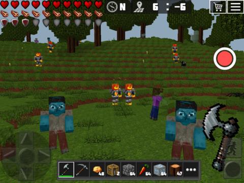 WorldCraft : 3D Build & Craft Скриншоты8